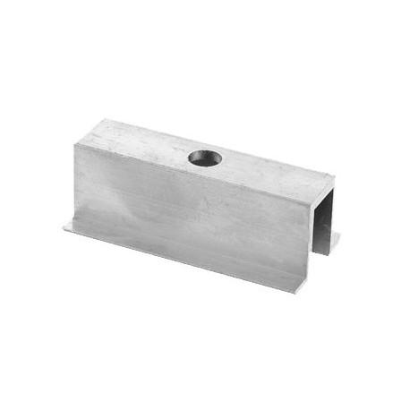Hliníkový středový úchyt - 70 mm