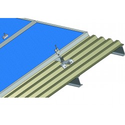 Konstrukce pro 16 solárních panelů 4kW