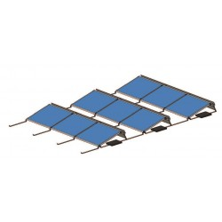 Konstrukce pro 6 fotovoltaických panelů 1,5kW