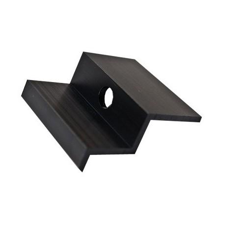 Hliníkový krajní úchyt - 50 mm