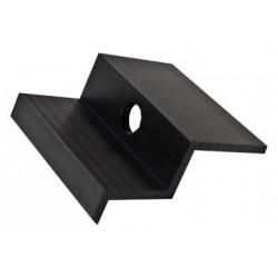 Hliníkový krajní úchyt - 46 mm